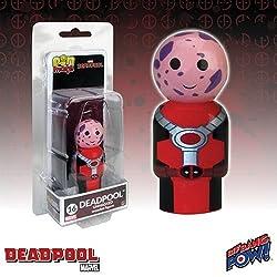 Deadpool Unmasked Pin Mate Wooden Figure