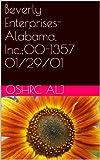 Beverly Enterprises-Alabama, Inc.;00-1357  01/29/01