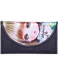 BSB Trendz Women's Wallet (Black, VI1757)