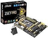 ASUSTek社製 ソケットLGA1150搭載 ATX マザーボード Z87-PRO