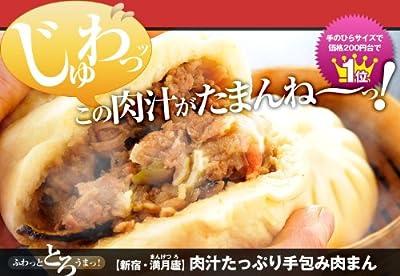 満月廬(まんげつろ)  (国産)肉汁たっぷり手包み肉まん 6個 ギフトボックス入り