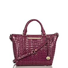Mini Arno Tote<br>Boysenberry La Scala