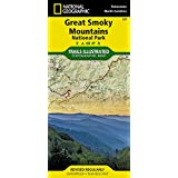 Great Smoky Mountains National Park (National Geographic Trails Illustrated Map)