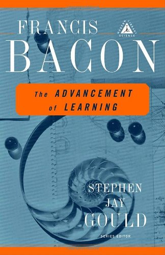 The Advancement of Learning (Modern Library Science)