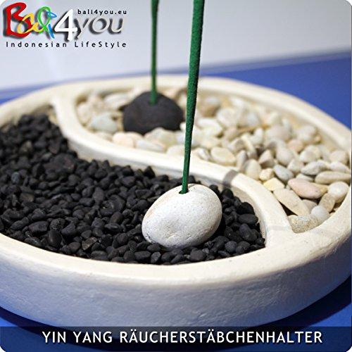 Bali jardín Zen Yin Yang incensario