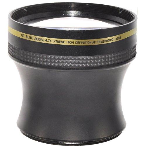Xit Xt5847Xtl 52/58Mm 4.7X Telephoto Lens (Black)