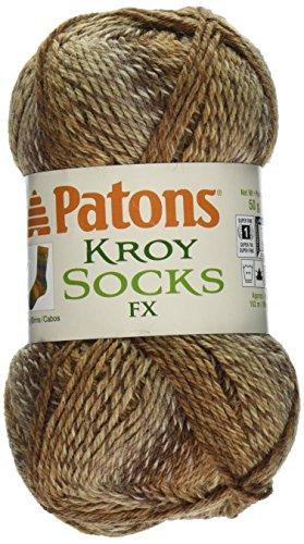 Spinrite Kroy Socks FX Yarn, Cowboy Colors