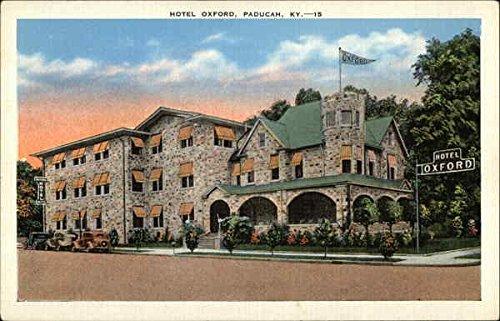 Hotel Oxford Paducah, Ky Original Vintage Postcard