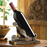 Cowboy Spur Wine Bottle Holder