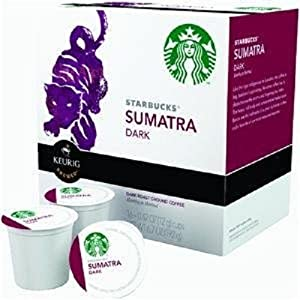 Keurig Starbucks Sumatra Dark Roast 16-Count K-Cups, 6.7oz
