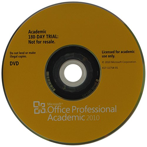 Microsoft Office 2010 180-Day Trial, Fall 2013