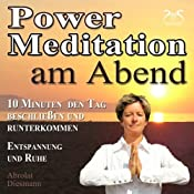 H&ouml;rbuch Power-Meditation am Abend