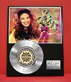 Selena LTD Edition Non Riaa Platinum Record Display - Award Quality Music Memorabilia Wall Art -