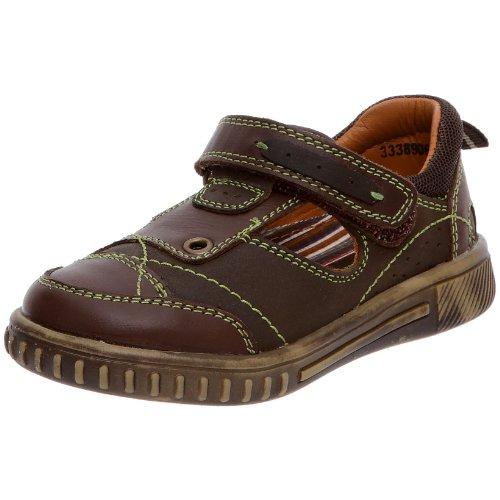 hush-puppies-guppy-low-zapatos-de-punta-redonda-de-ninos-con-cierre-de-velcro-color-marron-talla-10-