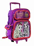 Full Size Pink Ever After High Friends Forever After Rolling Backpack
