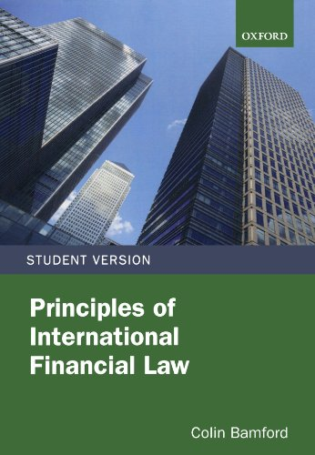 Principles of International Financial Law, by Colin Bamford