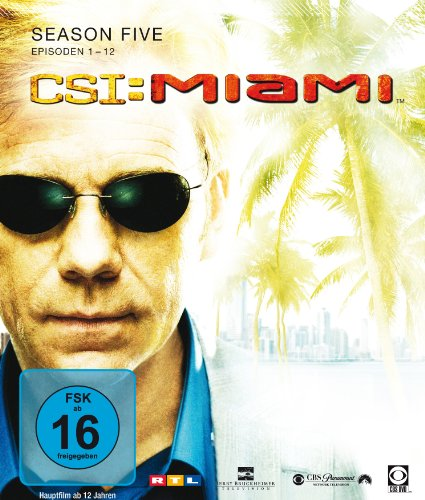 CSI: Miami - Season 5 [Blu-ray]