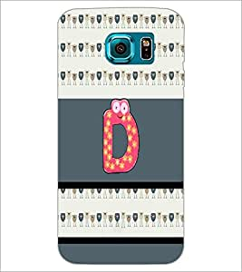 PrintDhaba GRANDbet D D-4328 Back Case Cover for SAMSUNG GALAXY S6 EDGE (Multi-Coloured)