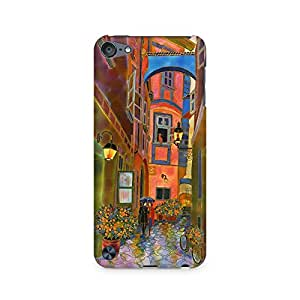 Mobicture Cartoon Premium Printed Case For Apple iPod Touch 6