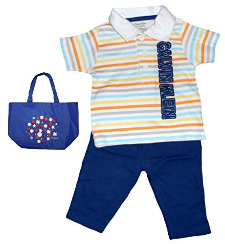 Polo Baby Gift Sets : Junior gaultier principe striped polo and pants set