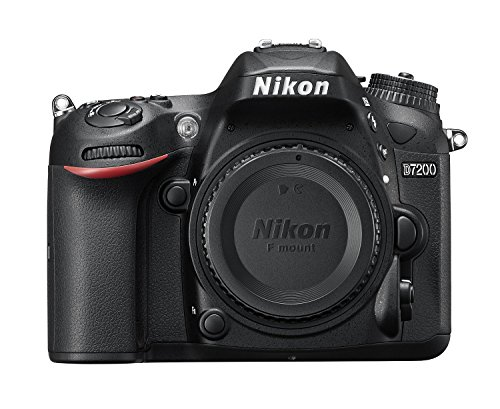 Nikon D7200 24.2MP Digital SLR Camera Body Only