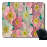 Mouse Pad Sentey® Noir Surface 8.55 Inch X 7.10 Inch (Extra Small Size) Black Mousepad Gs-2343 / 3mm Thick / Support... by Sentey
