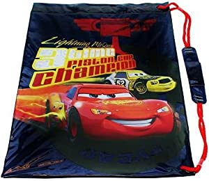 Disney Cars - Lightning Mcqueen 3 Time Piston Champion PVC Swim Bag