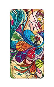 ZAPCASE Printed Back Cover for Sony Xperia C5 Ultra