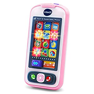 VTech Touch and Swipe Baby Phone - Pink - Online Exclusive by VTech that we recomend personally.
