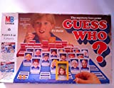 Guess who . The mystery face game. original vintage edition.