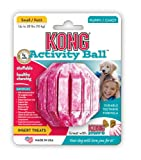 KONG Puppy Activity Ball Dog Toy, Small, Colors may Vary