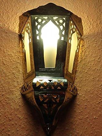 Marokkanische wandlampe souraya weiss us189 for Marokkanische wandlampe