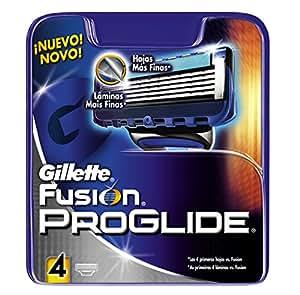 Gillette Fusion ProGlide RasierKlingen, 4 Stück