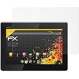 atFoliX Displayschutzfolie für Sony Xperia Tablet S (2 Stück) - FX-Antireflex: Displayschutz Folie antireflektierend! Höchste Qualität - Made in Germany!