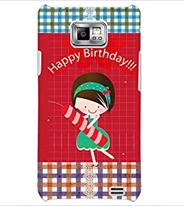 PrintDhaba Quote D-3597 Back Case Cover for SAMSUNG GALAXY S2 (Multi-Coloured)