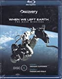 Discovery Channel When We Left The Earth Blu-Ray DVD Disc Includes Ordinary Supermen & Friends and Rivals