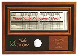 Buy ProActive Sports Hole In One Ball and Scorecard Display by ProActive