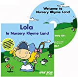Barafundle Personalised Story CD Lola in Nursery Rhyme Land