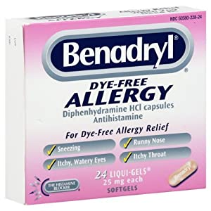 Synthroid Dye Allergy