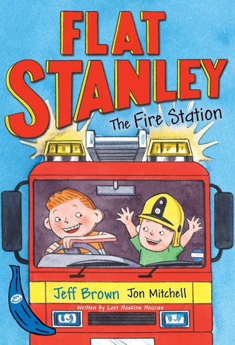 Flat Stanley and the Fire Station: Blue Banana (Banana Books)