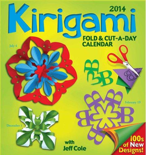 Kirigami Fold & Cut-a-day 2014 Day-to-Day Calendar