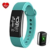Fitness Tracker HR, SEPVER Activity Tracker with Heart Rate Monitor, IP67 Waterproof Smart Bracelet with Step Tracker Sleep Monitor Calorie Counter Pedometer Watch for Android and iPhone iOS (Green)