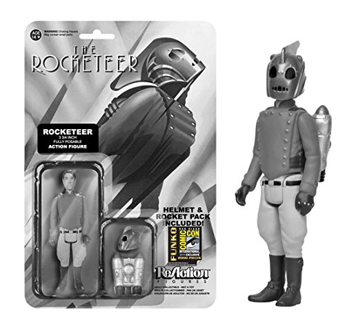 SDCC Exclusive Black and White Rocketeer ReAction Figure - 1