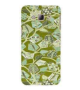PrintVisa Ethnic Art Pattern 3D Hard Polycarbonate Designer Back Case Cover for Samsung Galaxy A8