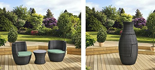FiNeWaY-BRAND-NEW-VERONA-3-PC-RATTAN-GARDEN-PATIO-FURNITURE-VASE-SET-TABLE-2-CHAIRS-STACKABLE