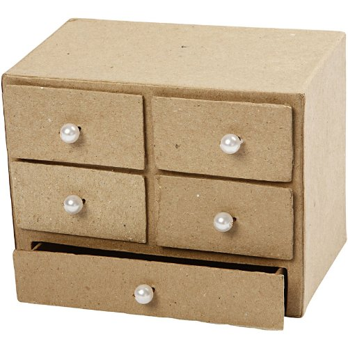 <p>Caja de cart&oacute;n piedra lista para que la pintes a tu gusto</p>