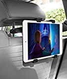 Tablet Car Mount, Liger® Universal Car Backseat Headrest Mount Holder with Extension 360 Degrees Rotation for 7-Inch to 11-Inch Tablet iPad Air, iPad 1 2 3 4, iPad Mini, Samsung Galaxy Tab, Tab Pro, Tab S, Galaxy Note, Google Nexus 7 10, LG G Pad, Dell Venue, Asus Memo Pad and More (Headrest Mount)
