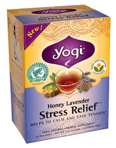 Honey Lavender Stress Relief 16 Bags
