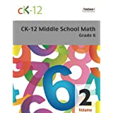 CK-12 Middle School Math Grade 6, Volume 2 Of 2