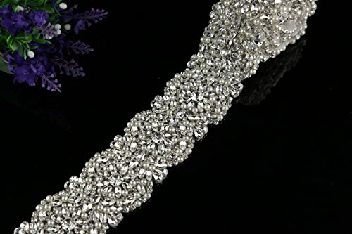 QueenDream-Best-seller-Applique-for-Wedding-Sash-navel-Applique-jewellery-Highly-Qualified-Belt-Applique-for-Wedding-Dress-1-yard
